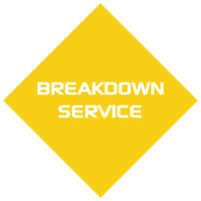 Breakdown service icon back