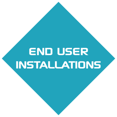 End user installation icon back