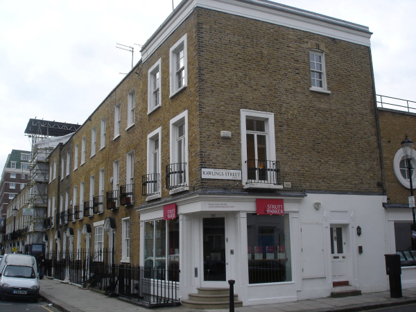 Penthouse flat in Cadogan Street